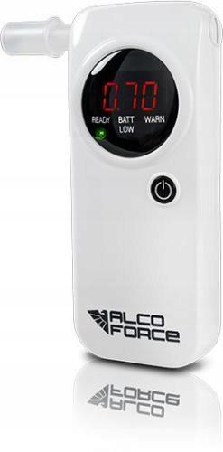 ALKOMAT ELEKTROCHEMICZNY AlcoForce EVO-1 biały + e