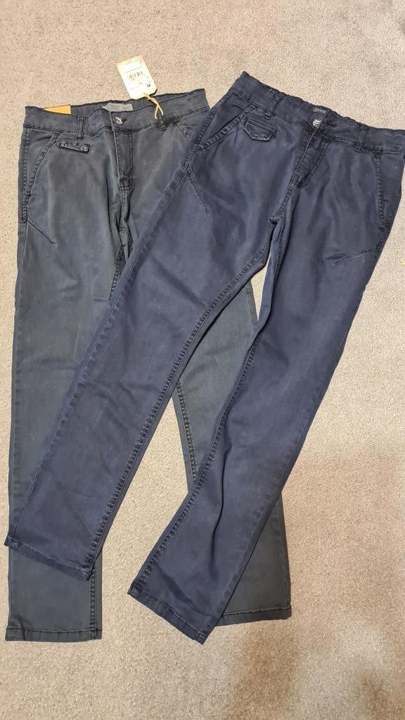 nowe jeansy roz. 158 2 sztuki