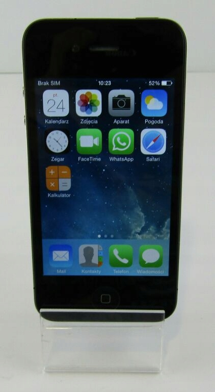 TELEFON IPHONE 4 (8GB) Z KABLEM