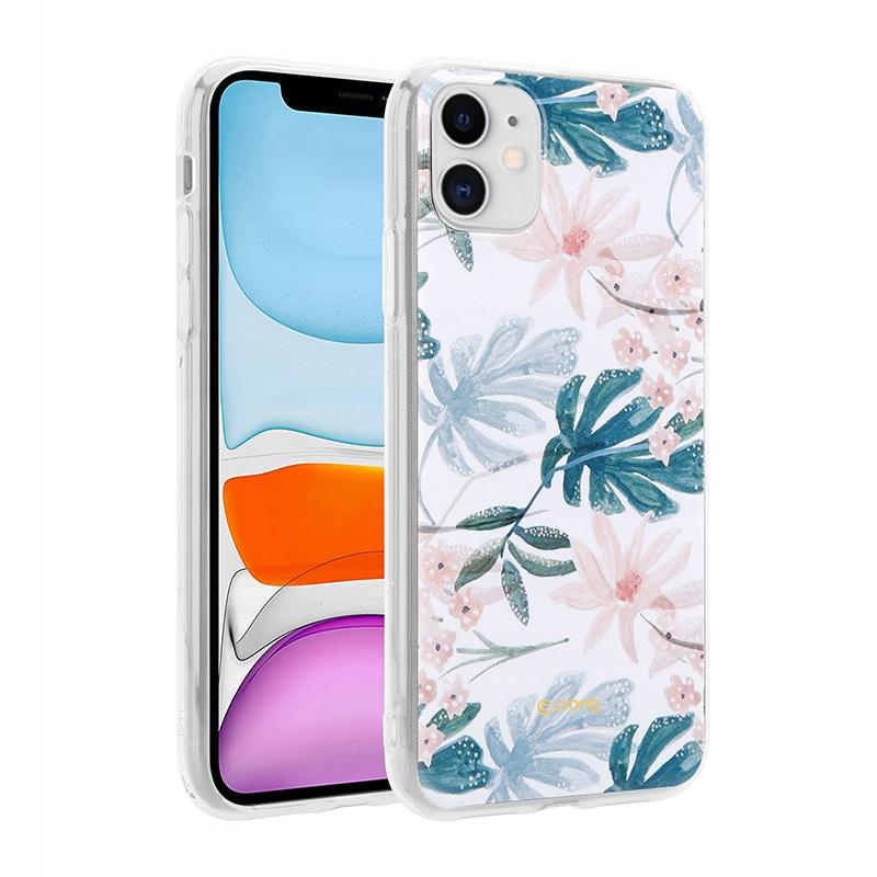 Crong Flower Case - Etui iPhone 11 (wzór 01)