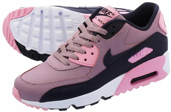 Buty Damskie Nike Air Max 90 LTR (GS) Różowe 38