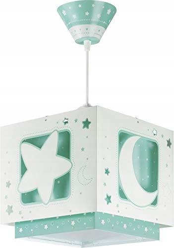 Lampa wisząca Dalber,E27, zielony, 24 x 24 x 21 cm