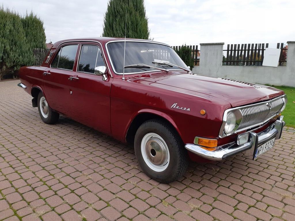 Wołga GAZ 24. Auto jak nowe