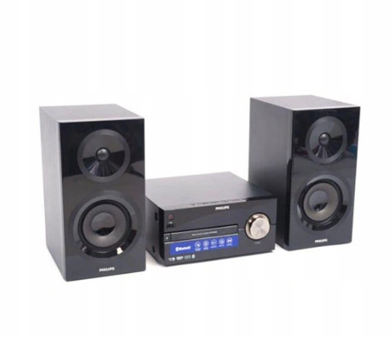 WIEŻA PHILIPS BTM2560/12 70W CD MP3 USB CZARNA