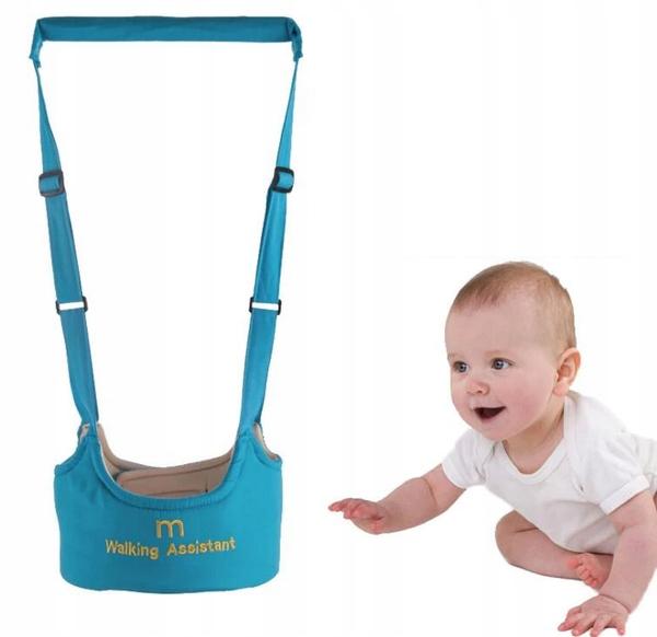 Szelki Dla Dzieci Do Nauki Chodzenia Niebieskie 8862861357 Oficjalne Archiwum Allegro