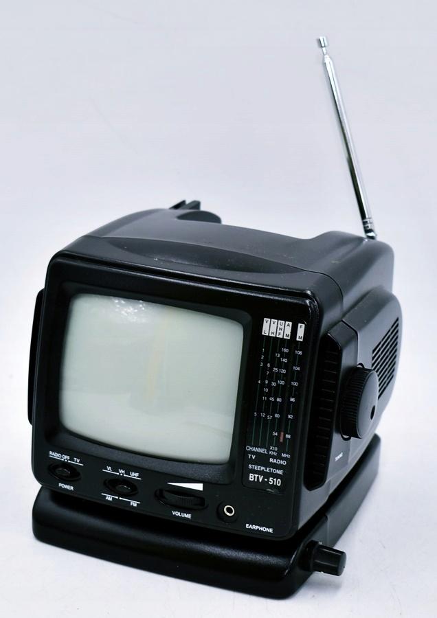 4720-28 STEEPLETON BTV510.. TELEWIZOR Z RADIO MINI