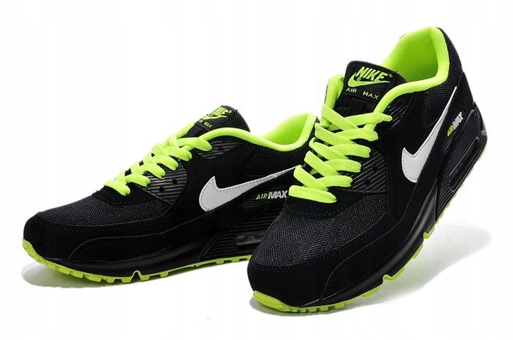 Nike Air Max 90 307793 022 Czarno zielone rozm.41 Allegro