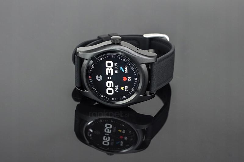 zegarek smartwatch sim forever sw-200 czarny