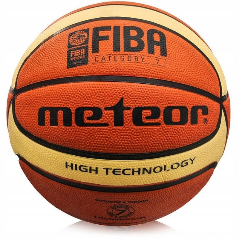 Piłka koszykowa Meteor Cellular 7 B/K FIBA