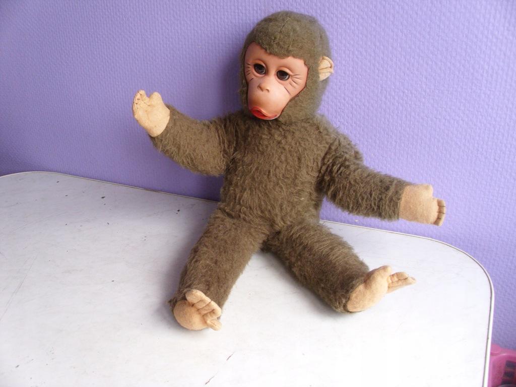 Stara małpka - lalka