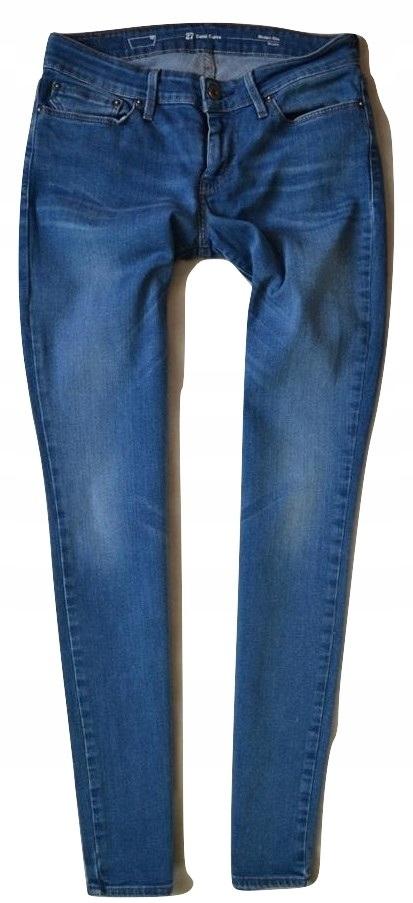 Levis Curve Jeans Dżinsy Damskie Rurki 27_30