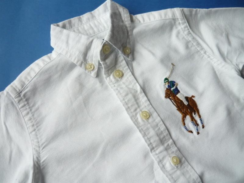 RALPH LAUREN*super koszula konik*9mcy
