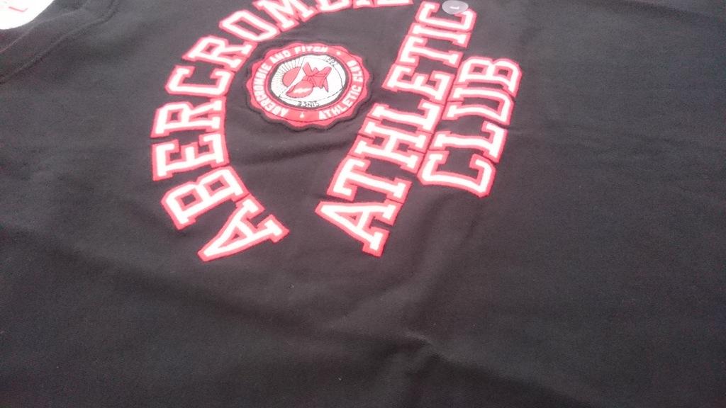 NOWA koszulka abercrombie&fitch L t-shirt bla