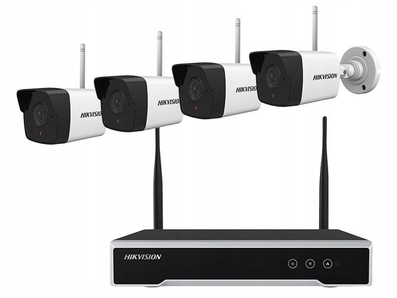 Rejestrator CCTV 4-kanał.+4 kam.+HDD zestaw WIFi 2