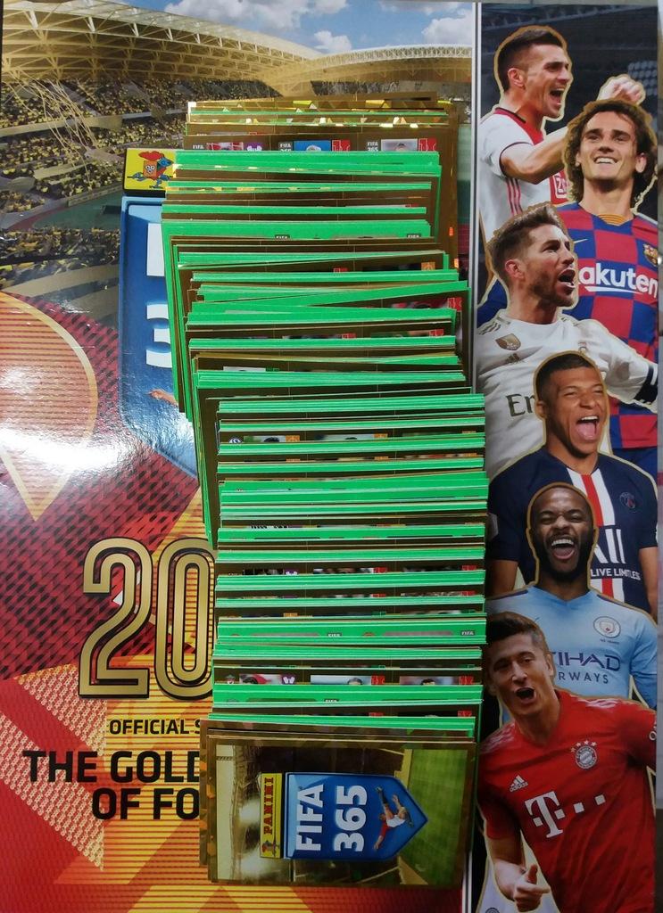 PANINI FIFA 2020 NAKLEJKI KOMPLET 442 SZT NOWOŚĆ