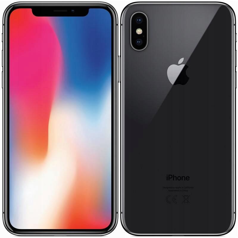 Okazja! Nowy iPhone X 64 GB Space Gray Czarny