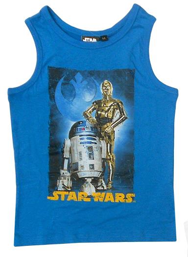 BLUZKA na ramiączka koszulka STAR WARS rozm. 140