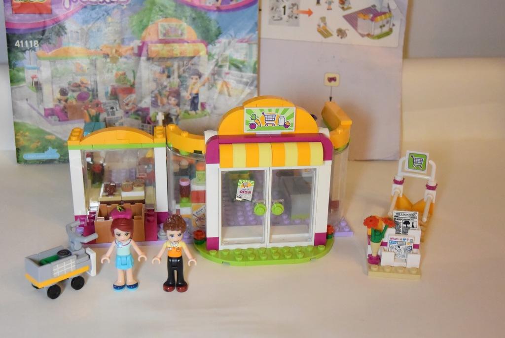 Klocki LEGO Friends 41118 Supermarket w Heartlake