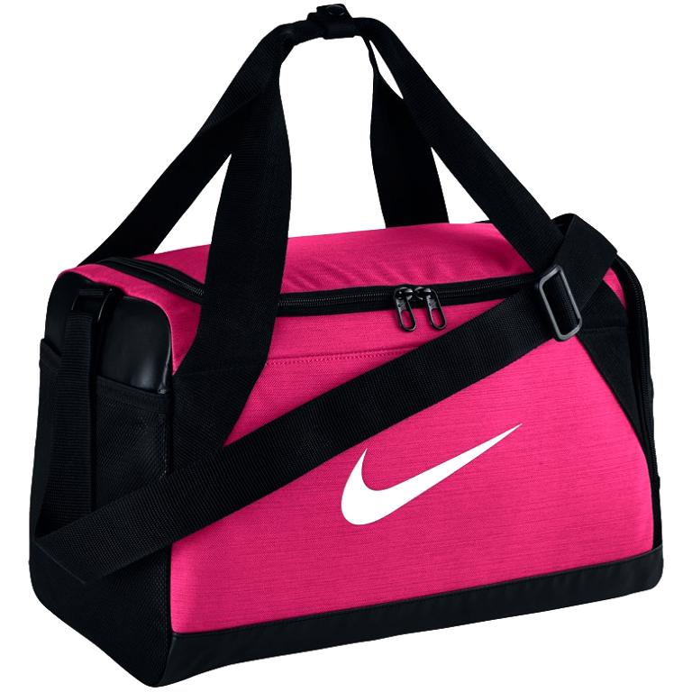 MAŁA torba Nike sportowa NA RAMIĘ damska FUKSJA