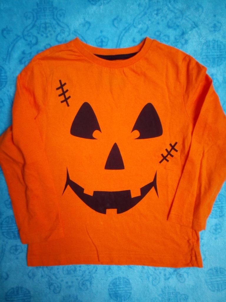 Podkoszulek z długim rękawem 110/116 Halloween
