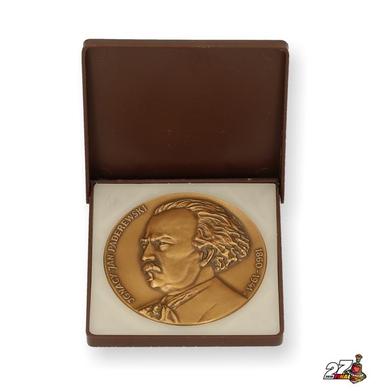 "Numizmat ""Ignacy Jan Paderewski 1860-1941"""