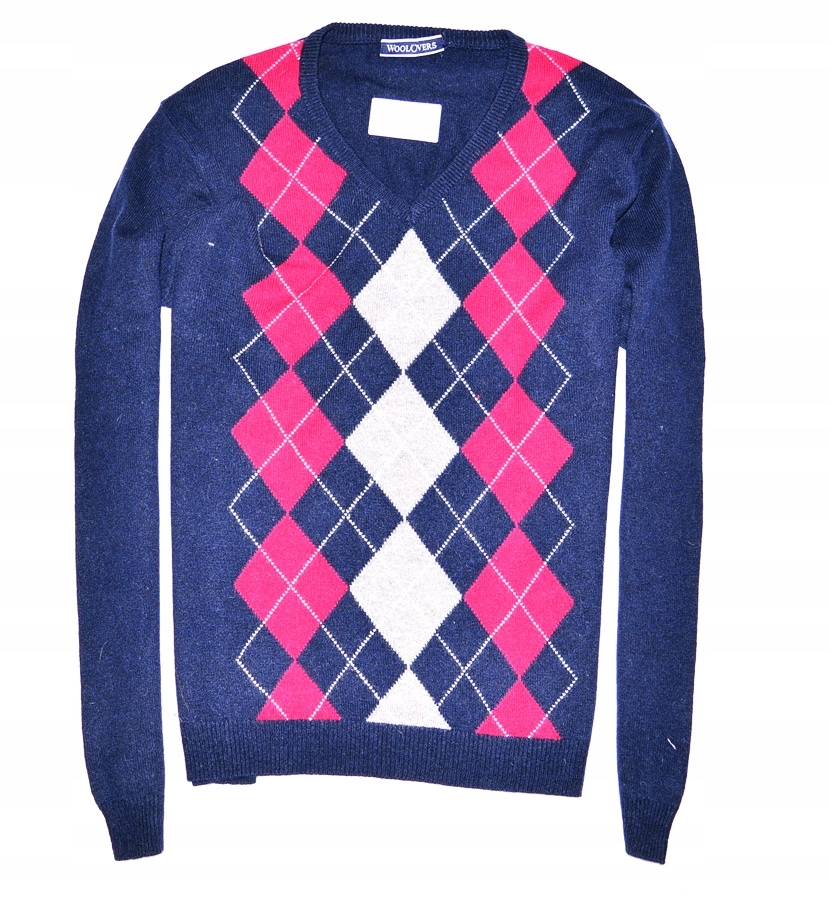6126-64 ...WOOLOVERS a#g WELNIANY SWETER ROMBY r.L