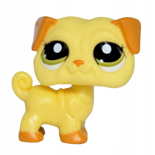 piesek MOPS #2589 -- Littlest Pet Shop LPS pies