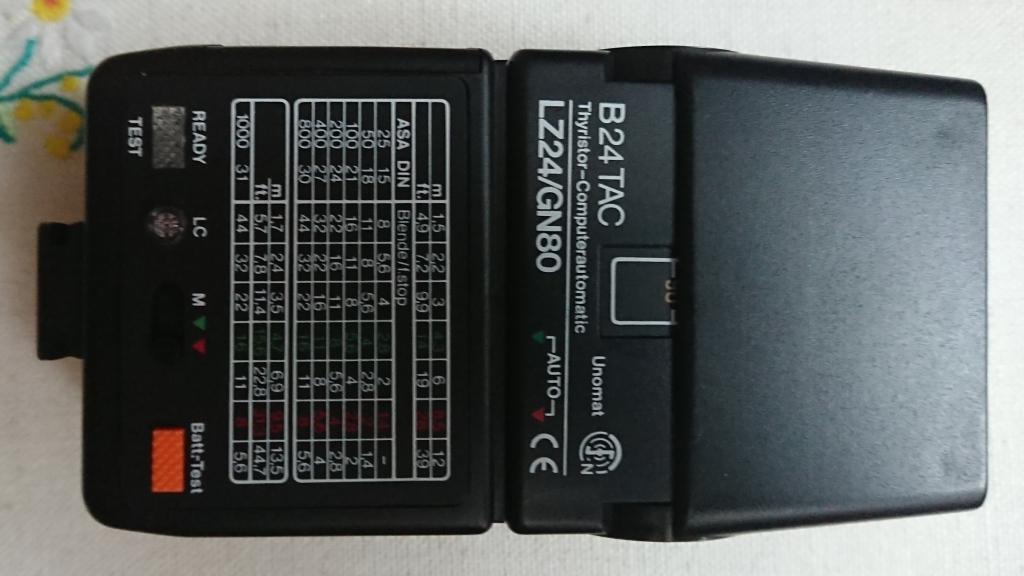 lampa błyskowa unomat b24tac
