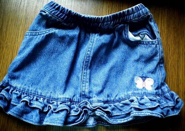 Spódniczka jeansowa 0-3 miesiące Cherokee