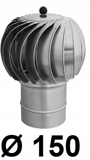Turbowent 150 [mm] Ocynk / Aluminium