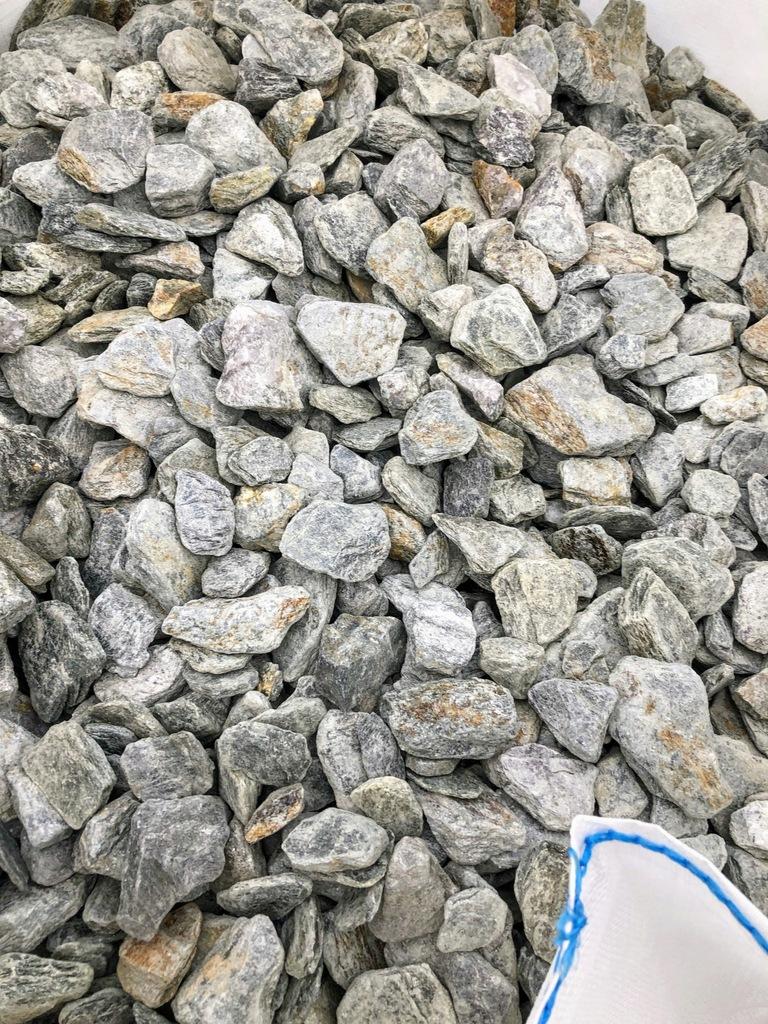 Srebrna kora kamienna, gnejs, 30-60mm, 5kg kamień