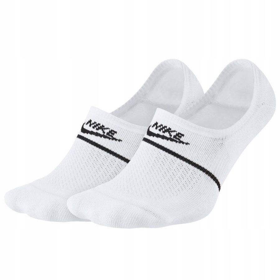 Stopki Skarpetki Damskie Nike białe 2 pary 38-40