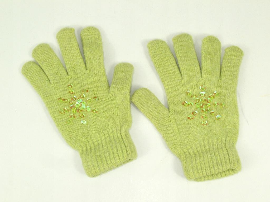 H&M super rękawiczki 6-8 lat