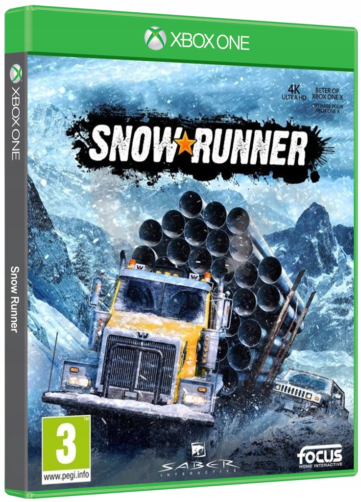 Snowrunner Pl Po Polsku Xbox One Symulacja 9096631847 Oficjalne Archiwum Allegro