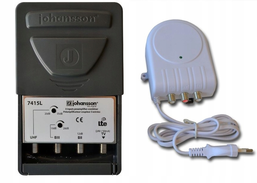 Johansson KIT 24V 7415L2 /2434 FM+DAB+UHF 35dB LTE