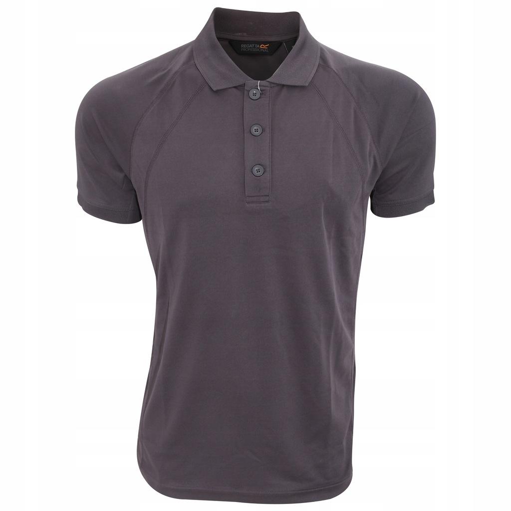 Regatta Wytrzymała męska koszulka polo z L Żelazo