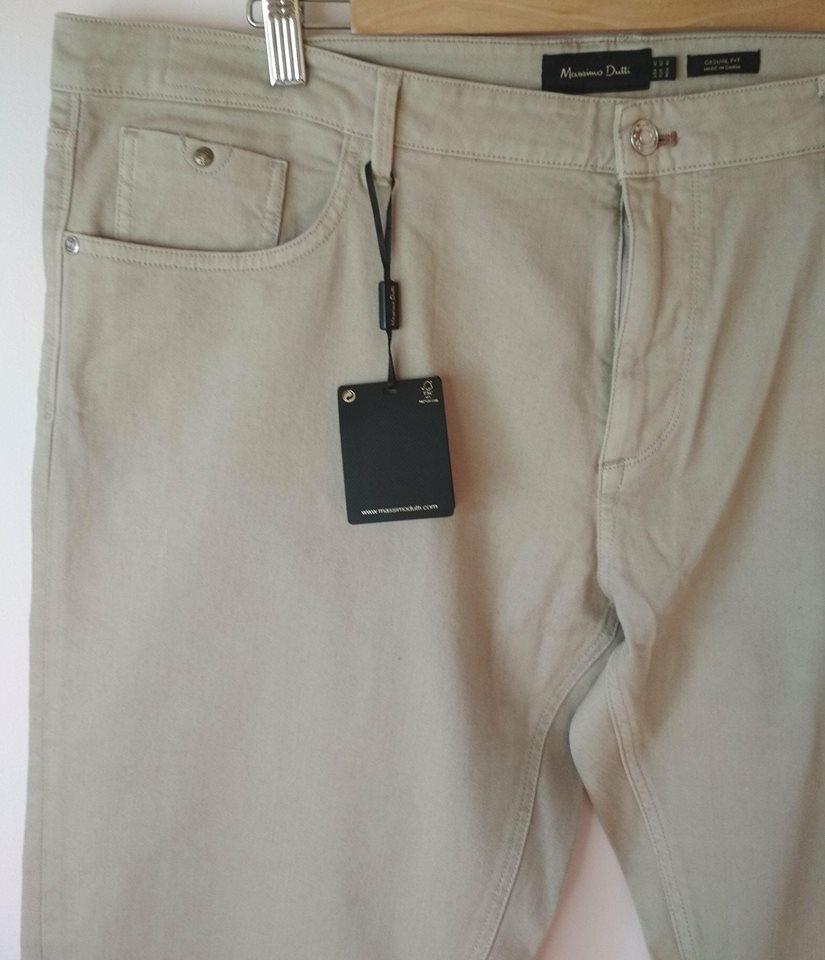 Massimo Dutti spodnie męskie rozmiar 40, pas108cm.