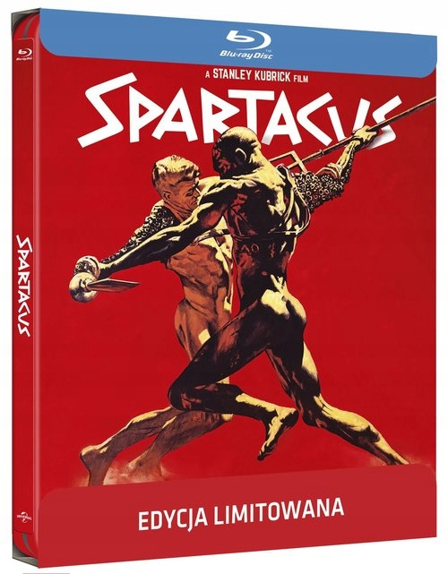Spartakus (Steelbook) Blu-ray