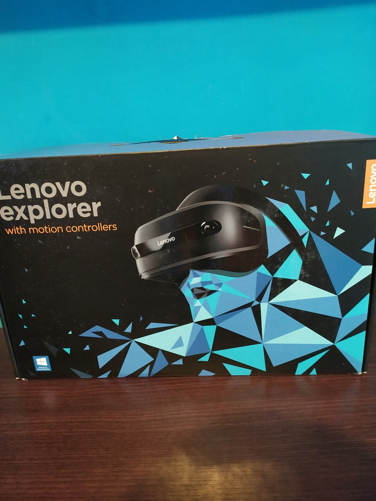 Gogle Lenovo Explorer z kontrolerami ruchu