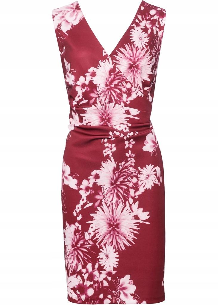 X153 BPC Sukienka w kwiaty r.48/50