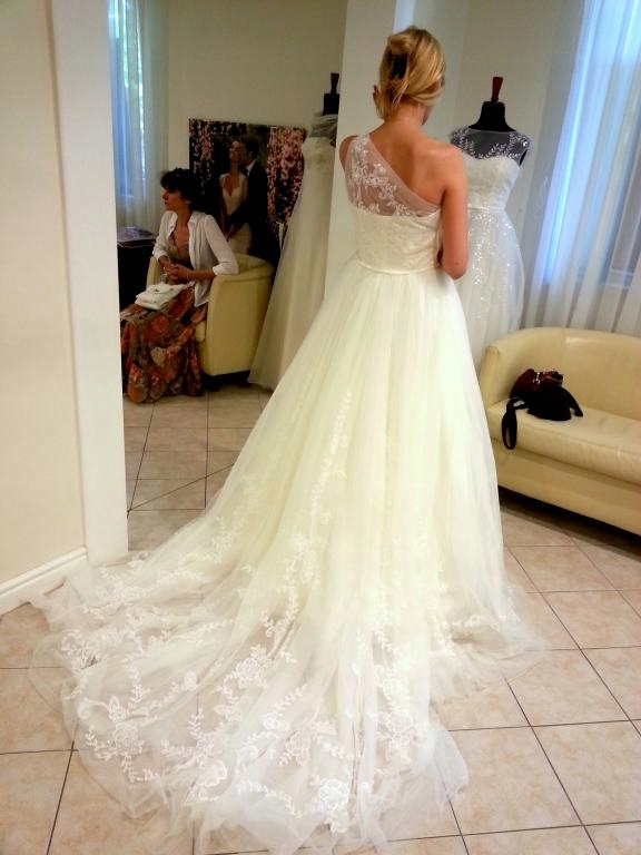 suknia ślubna PRONOVIAS nowa OKAZJA TANIO