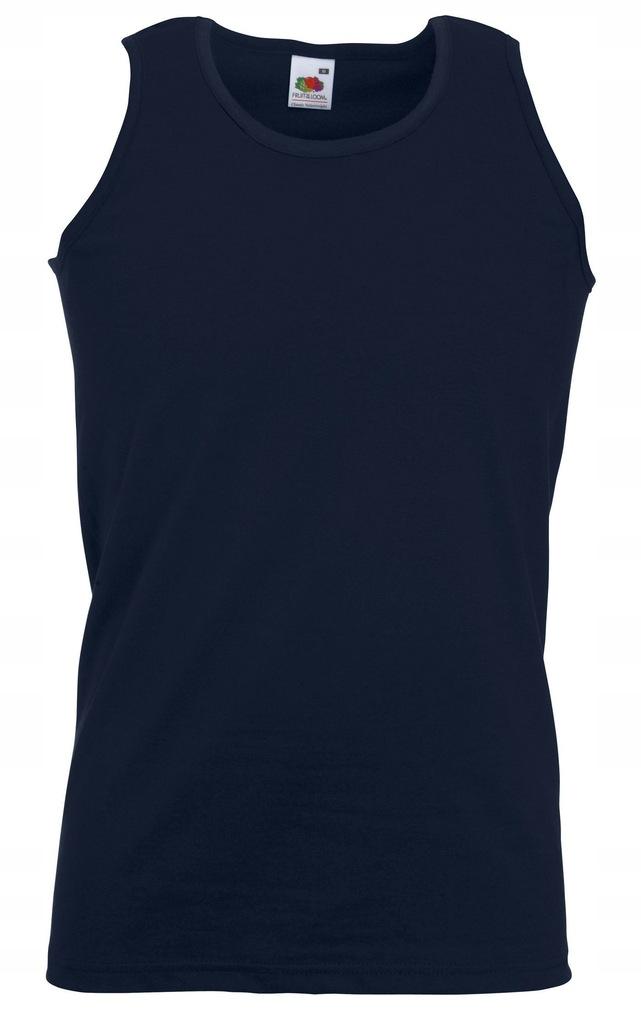 Koszulka FRUIT męski podkoszulek Deep Navy L