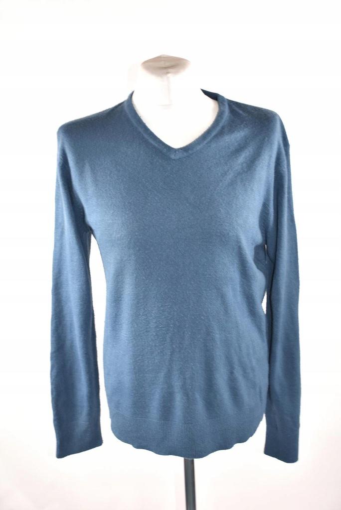PEACOKS niebieski sweter męski roz_L