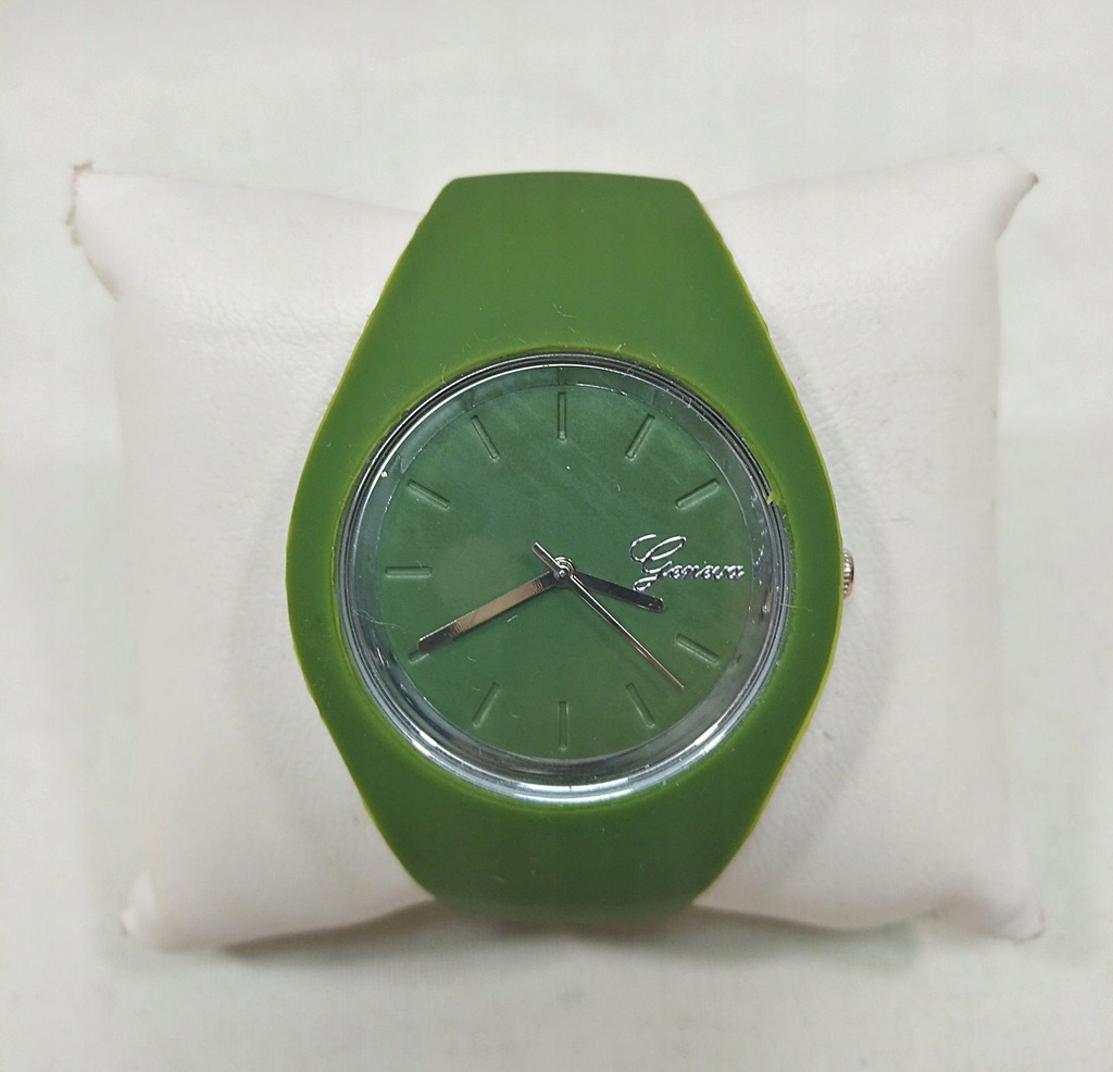 Zegarek Geneva Zielony Okazja!