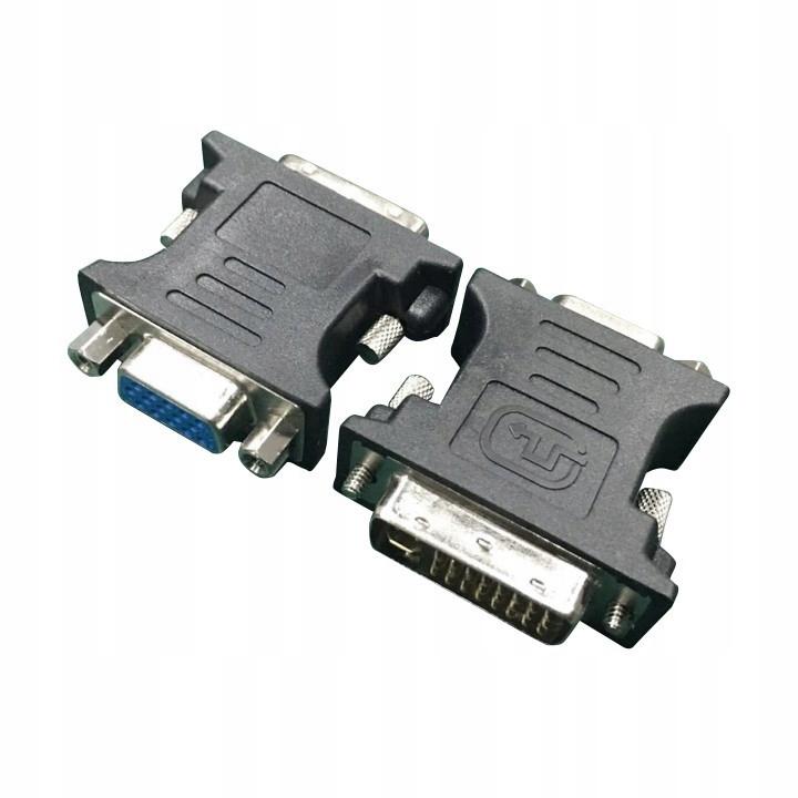 Adapter DVI-VGA (24M/15F)