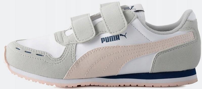 Sneakersy PUMA Cabana Racer Sl Jr 351979 59 Puma WhitePearl