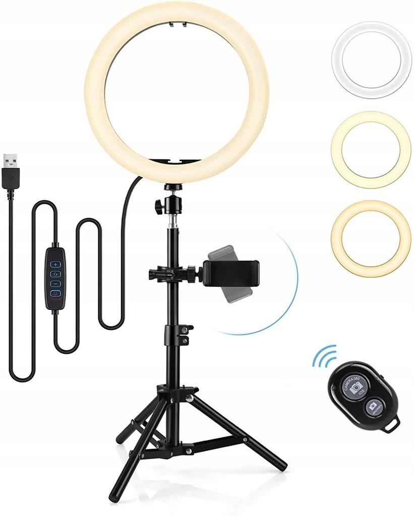Hommie Lichtring lampa pierścieniowa selfie