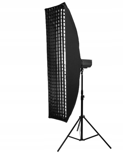 Softbox STRIP 35x140cm BOWENS + GRID + pokrowiec