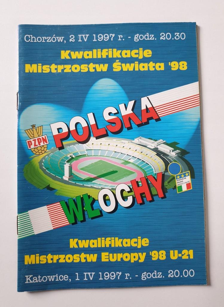 PROGRAM POLSKA - WŁOCHY 1997 U21