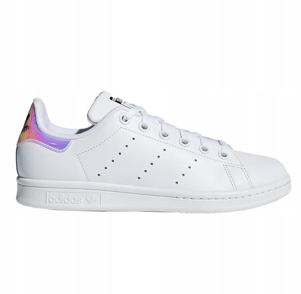 Buty młodzieżowe adidas Stan Smith J AQ6272 hologram
